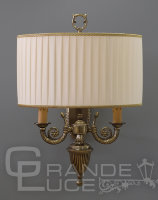 Бра 870/2A BR.GOLD+IVORY SHADE, Nervilamp